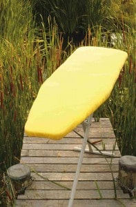 ironing board cover flag-top board