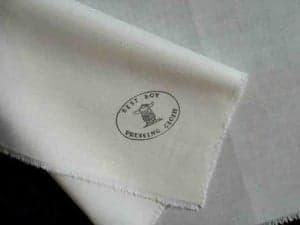 pressing cloth-folded