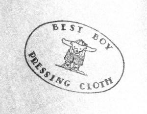 pressing cloth-logoonly