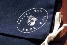 Travel Bug Shoe Bag. Details