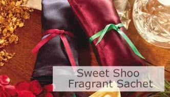 Sweet Shoo Fragrant Sachet. Click Image To Open Page.
