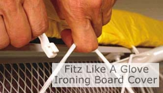 Fitz Like A Glove™ Ironing Board Cover. Click Image To Open Page.