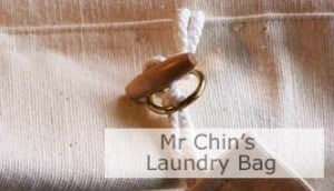 Mr Chin's Laundry Bag. Click Image To Open Page.