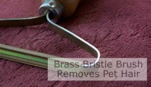 Brass Bristle Brush. Click Image To Open Page.