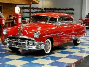 Travel Bug Shoe Bag Cars. Chevrolet 210. 1953. Red. Pinterest USA 2017 December 22