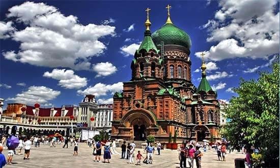 St Sophia Cathedral Harbin China.