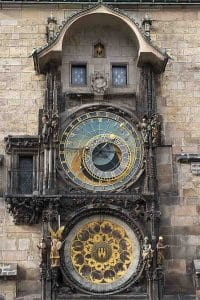 Travel Bug Shoe Bag Goes Walkabout Prague Astronomical Clock