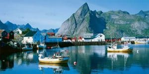Travel Bug Shoe Bag. Walkabout. Lofoten Islands Norway