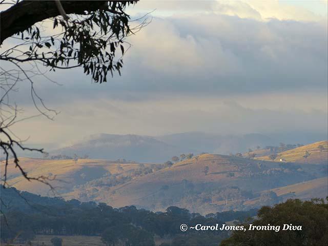 Blue Hills On A Misty Morning